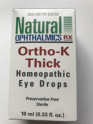 Natural Ophthalmics Ortho-K Night Time Eye Drops
