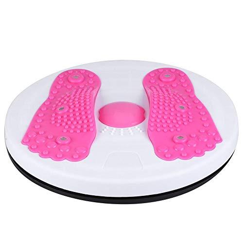 Alomejor Twist Board da Fitness Palestra Figura Trimmer Disco Rotante per Donna Massaggio di Yoga Dimagrante