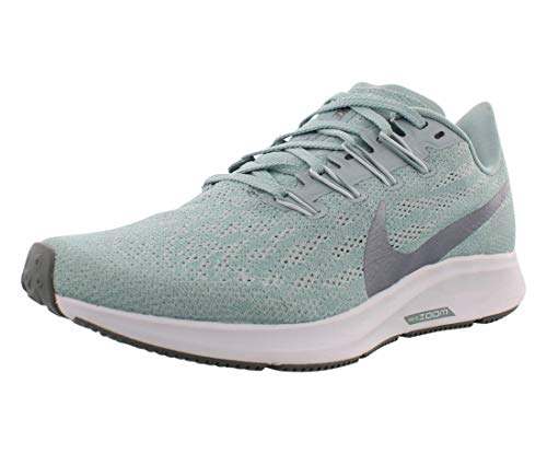 Nike Air Zoom Pegasus 36 Women's Running Shoe Ocean Cube/MTLC Cool Grey-Pure Platinum Size 6.0