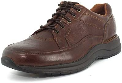 Rockport New Men s Edge Hill II Walking Shoes Brown Leather 9 product image