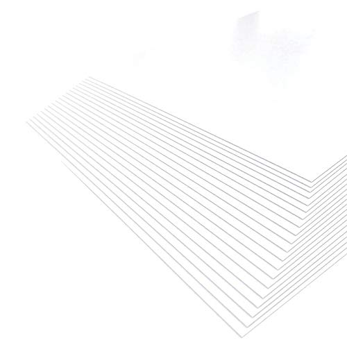 KAMIOLSHOP 厚紙 ボール紙 A4 20枚 両面白色