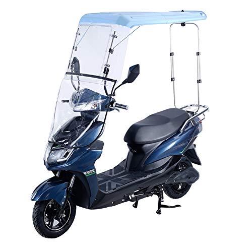 XIONGGG Motorrad-Fahrrad-Sonnenblende, Motorrad-Überdachung, Motorrad-Dach-Schatten-Zelt-Regenschirm-Windschutzscheibe