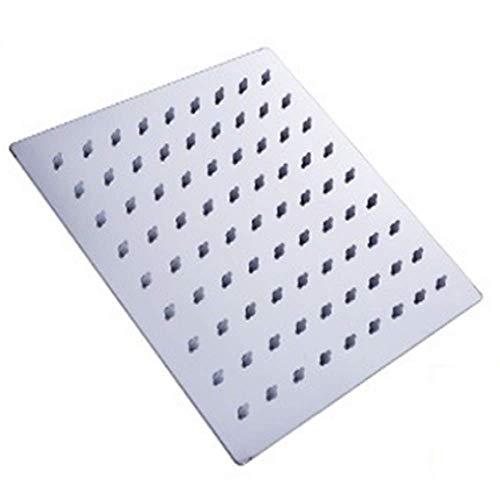6 '' 8''Zoll rundes quadratisches ultra dünnes großes Niederschlag-Duschkopf-Edelstahl-Panel großes Wasser-gegenwärtiges Badezimmer-Spitzen-Spray-Duschquadrat 8 Zoll