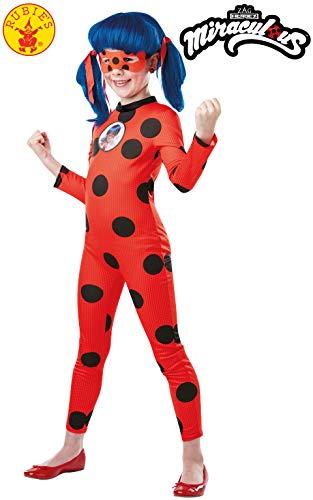 Miraculous Ladybug Rubies 3300502 - Deluxe, Kinder Kostüm, Gr. S-XL | 3-10 Jahre (Large)