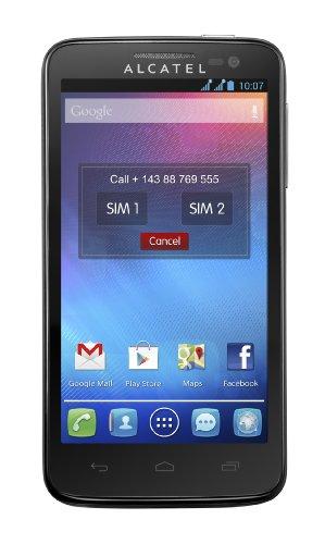 Alcatel X-Pop Dual SIM Smartphone, Raven Black