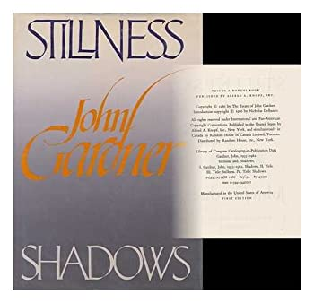 Stillness and Shadows 0394544021 Book Cover