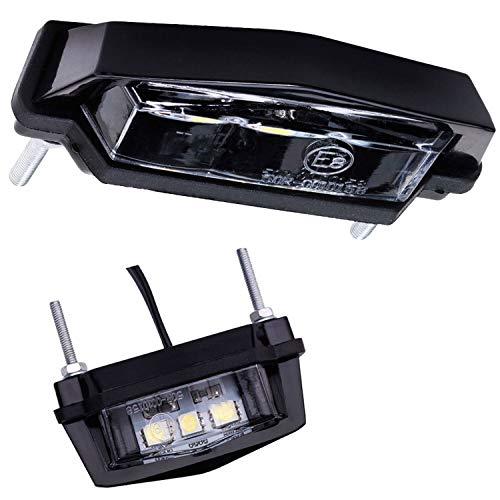 Mini LED Kennzeichen Beleuchtung Kennzeichenleuchte Motorrad Roller Quad PKW Anhänger
