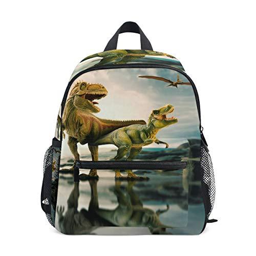 ISAOA Cute Kids Rucksack, Mini Kinder Schultasche/Kindergarten Vorschule Kleinkind Bookbag, Cartoon Tiermuster für Outdoor/Sport/Camping/Picknick Rucksäcke Schultasche für Kinder