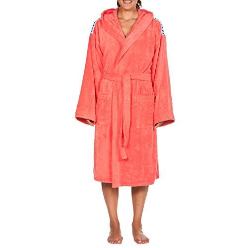 Arena Core Albornoz Unisex Soft Robe, Adultos, Pale-Rose White, M