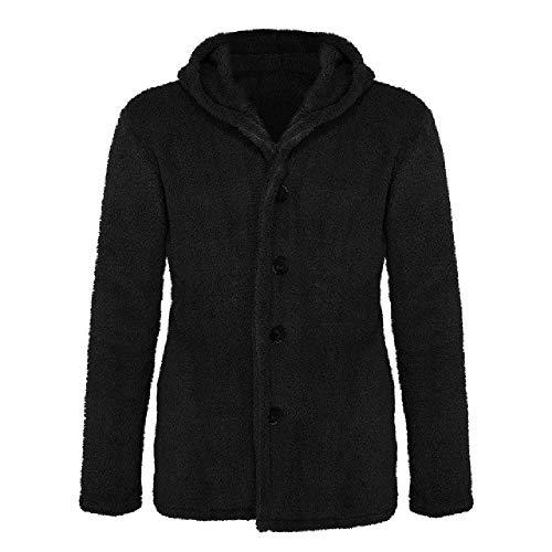 Vest Jas Mannen Winter Dikke Warm Fleece Teddy Jas voor Heren Sportwear Tracksuit Mannelijke Fluffy Fleece Hoodies Jas 9102