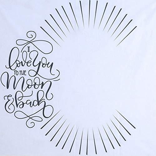 Pelze Neugeborenes Kleinkind Babys Milestone Decke Foto Fotografie Werkzeug Prop Brief Kulisse Uhr Kalender Hintergrund Blanket (Licht) QiuGe (Color : Light)