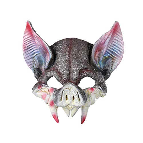 Amosfun Fledermaus-Maske für Cosplay Party Maskenzubehör