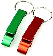 Set of 2 - Key Chain Beer Bottle Opener/Pocket Small Bar Claw Beverage Keychain Ring