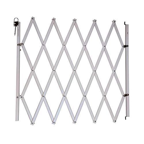 nordlinger Pro 742001Stop' Fix Barriera animali in legno estensibile bianco
