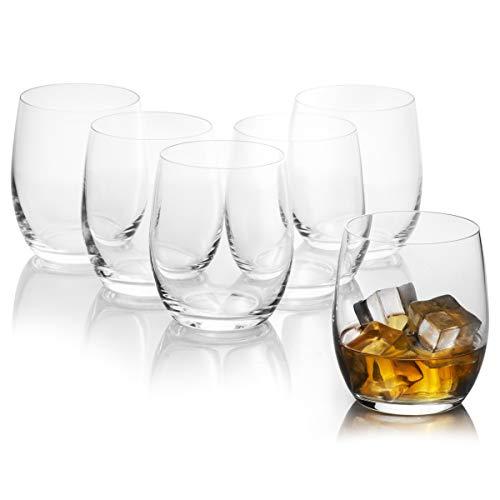 Set di 6 bicchieri bassi CLUB 300 ml di Bohemia Cristal