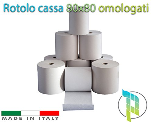 80/x 80/rotoli di carta termica Epos POS Machine rotoli 80/rotoli in una scatola