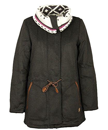 Billabong Damen Mantel   - Grau - Fog - xl (Herstellergröße: X-Large)