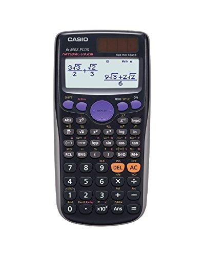 CASIO FX-85ES Wissenschaftlicher Taschenrechner, 11.1 x 80 mm, schwarz