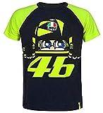 Valentino Rossi VRKTS353002001, T-Shirt Cupolino Bebé Unisex, Azul, 1/3 Años