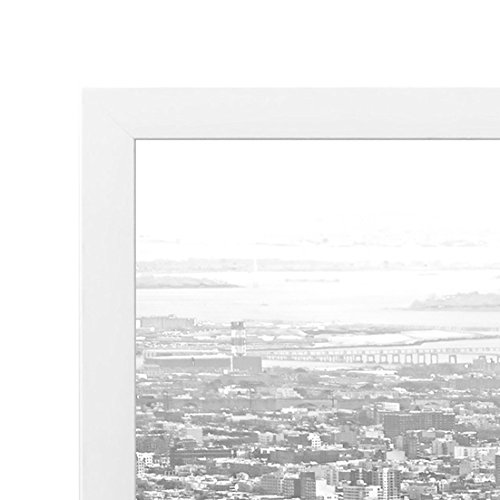 Americanflat 16x20 inch White Poster Frame   Polished Plexiglass. Hanging Hardware Included!