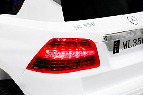 RC Auto kaufen Kinderauto Bild 6: Kinder Elektro Auto Mercedes Benz ML350 2x25W 12V Elektroauto Kinderfahrzeug Ferngesteuert Elektro ml 350 (Schwarz)*