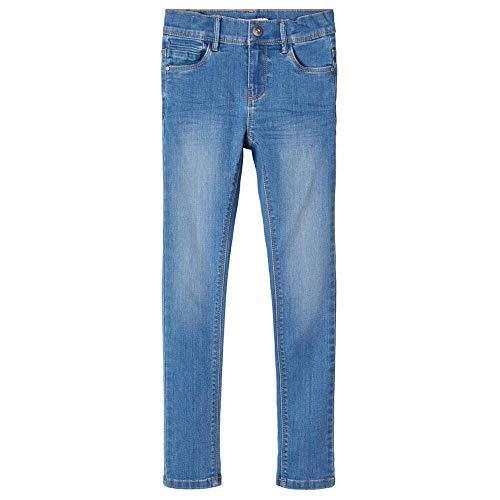 NAME IT Girl Jeans Skinny Fit 164Medium Blue Denim