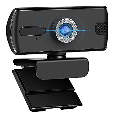 Amazon - Save 25%: 1080P Webcam Computer Camera, USB Plug and Play, Webcam with Microphon…