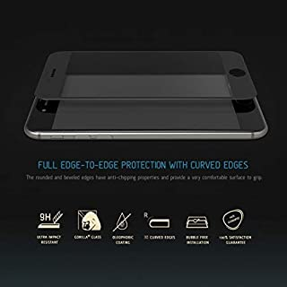 Iphone 7 (4.7 Inch) Edge 3D Tempered Glass Seamless Full Screen Protector - Black