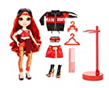 Rainbow Surprise High Ruby Anderson – Red Fashion Doll with 2 Outfits