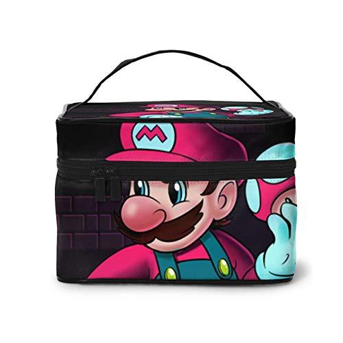 Anime Cartoons Super Mario Große Kapazität Organizer Kosmetiktasche Make-up Tasche Case Kulturtasche Make-up Tasche Handtasche