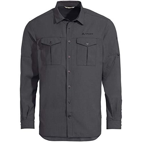 VAUDE Herren Hemd Men's Rosemoor LS Shirt II, Iron, M, 42236