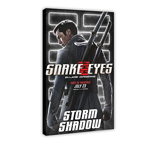 Action Movie Snake Eyes G.I. Joe Origins 10 poster di tela per camera da letto, sport, paesaggio, ufficio, decorazione per la stanza regalo, 60 x 90 cm