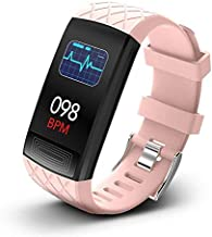 NiceFuse Smart Watch, Fitness Tracker Health Watch with Heart Rate Monitor Blood Oxygen SpO2 Saturation Monitor, Waterproo...