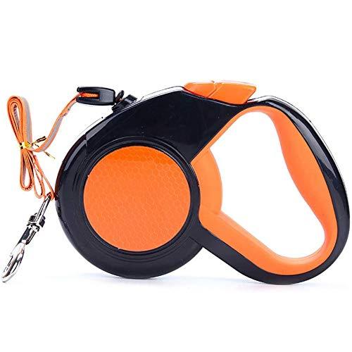 CRMY Roll-Leine Gurt für Hunde bis max. bis 30kg, Professionelles Haustier-Gehgerät, Aufrollbare Hundeleine 8m aus Polyester mit Handgriff