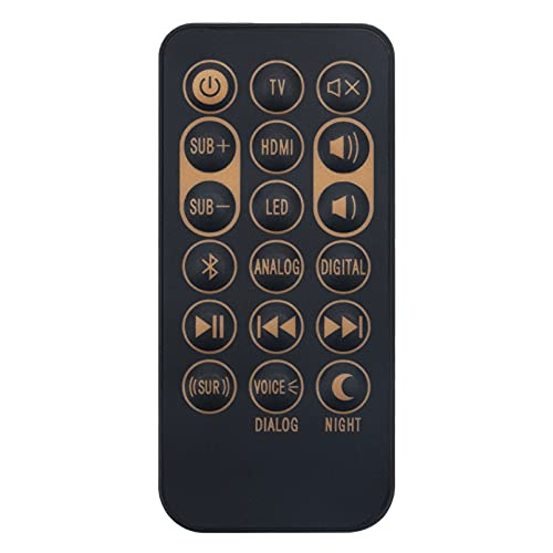 1062590 Replacement Remote Control fit for Klipsch Sound Bar Sireless...