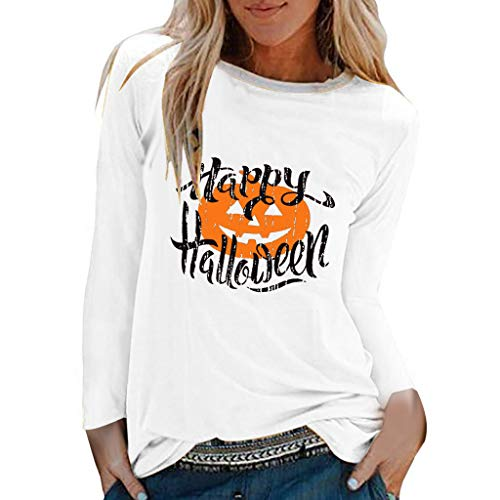 Sweatshirts Damen Casual Halloween Print Shirts Top T-Shirt Bluse Hoodie 3D Schneeflocke Lichterkette Kapuzenpullover Rot Christmas Teenager Pulli Lustige Pullover Xmas Oberteile (Gelb.XL)