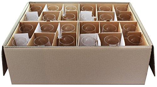 Gabriel-Glas - Set di 24 bicchieri da vino in cristallo austriaco, edizione Standart