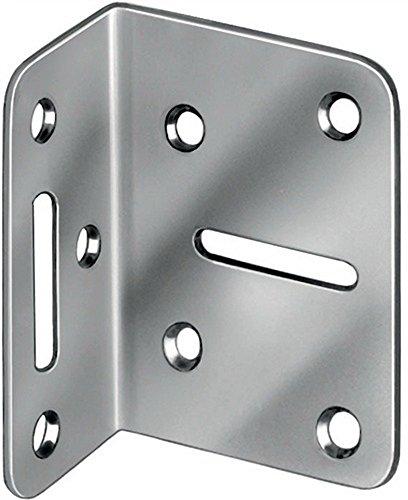 Verstellwinkel Schenkellänge 50x35mm Breite 70mm, 20 Stück