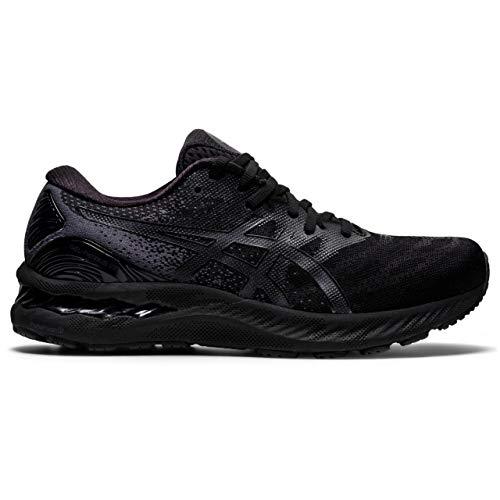 ASICS Gel-Nimbus 23, Zapatillas de Running Hombre, Negro, 44.5 EU