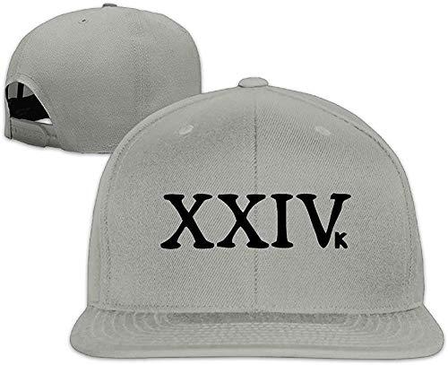 YVES Bruno Mars Teases New Single 24K Magic Trucker Hat Cool Flat-Along Cap