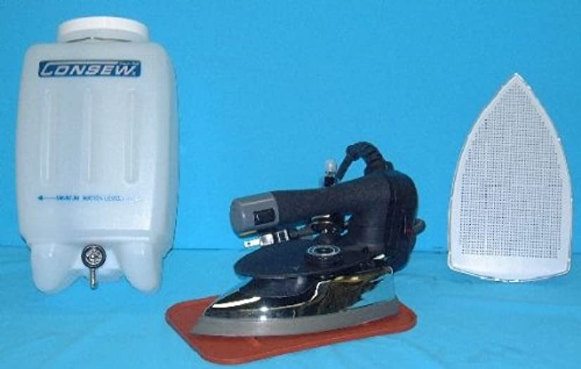 Consew CES-300 Gravity Feed Industrial Steam Iron Set