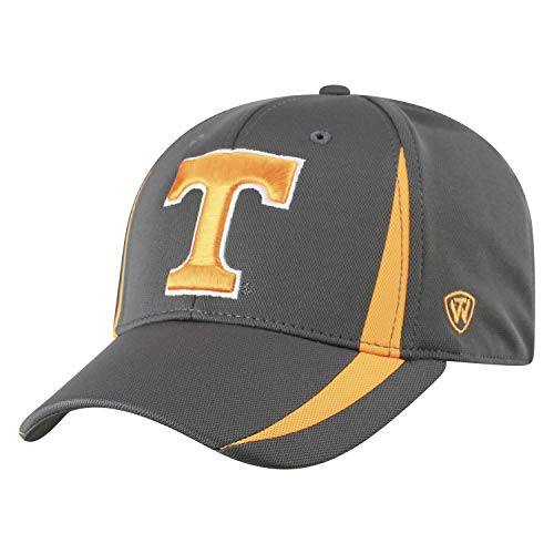 Top of the World Herren Tennessee Volunteers Fitted Hat Icon, Anthrazit, One Fit