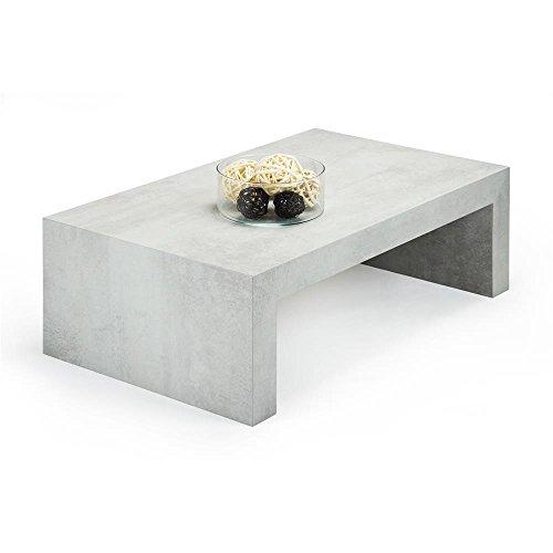 Mobili Fiver, First H30, Mesa de Centro, Gris Cemento, 90 x 54 x 30 cm