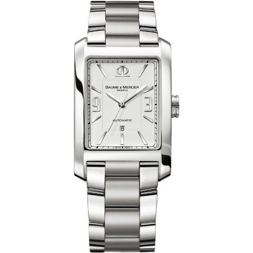 Baume&Mercier Reloj Analógico para Hombre de Cuarzo con Correa en Acero Inoxidable M0A08819