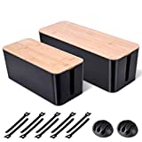 2 Pack Large Cable Management