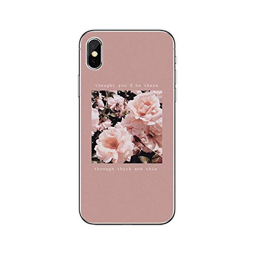 Pink Aesthetic - Carcasa de silicona para iPhone 5, 5S, SE, 6, 6Plus, 7 Plus, 8 Plus, X, XS, XS, XR, XS Max 11, para iPhone 11 Pro Max-T19080508-11.jpg-for iPhone 6 Plus