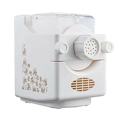 160 W Automatic Pasta Maker with 9 Noodle Moulds Electric Pasta Machine Noodle Machine Pasta Maker Machine for Home Kitchen