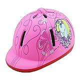GLMAS Casco de equitación para niños y niñas, ajustable, casco de bicicleta al aire libre, casco caballero, material ABS certificado CE, color rosa