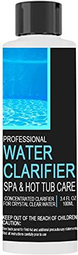 Rebanadas de cloro para piscinas y spa: pestañas pequeñas de cloro para piscinas, spa, jacuzzi para piscinas de más de 5000 galones, limpiador de spa (100ml)