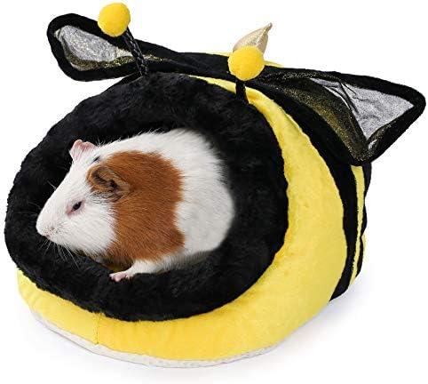 JanYoo Rabbit Small Animal Bed Ferret Cage Accessories Toys Lizard Habitat Hammock product image